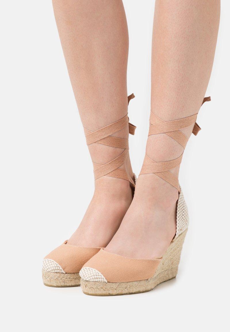 Office - MARMALADE - Sandály na vysokém podpatku - apricot