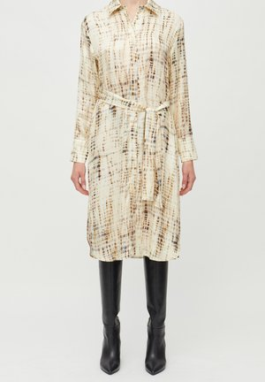Shirt dress - print
