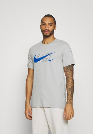 TEE AIR - Print T-shirt - light smoke grey