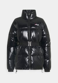 AVVENTURA PUFFED JACKET WITH BELT - Winter jacket - black