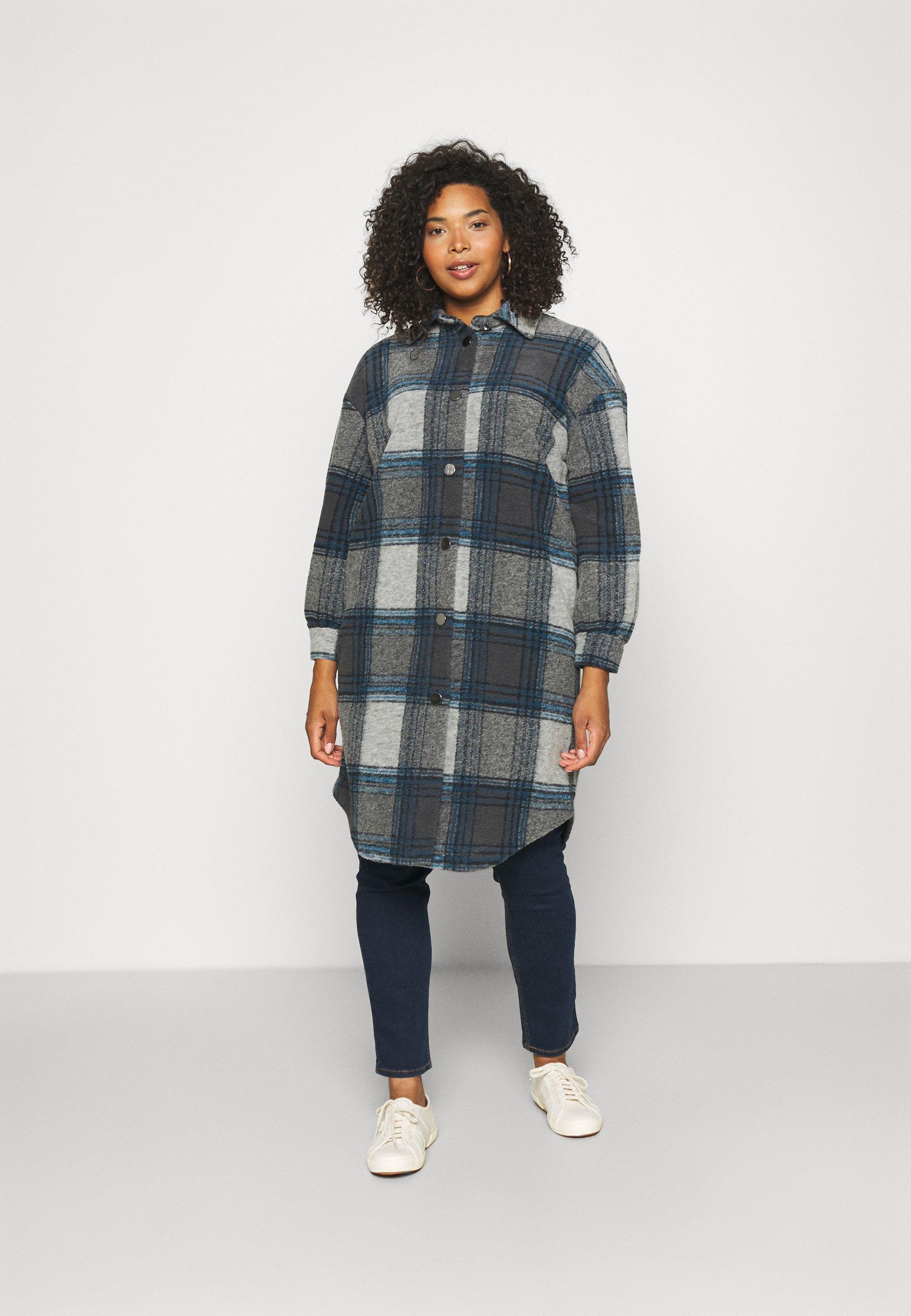 Women CARANDREA LONG SHACKET - Classic coat