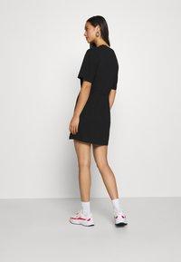 Nike Sportswear - DRESS - Jersey dress - black/white - 2