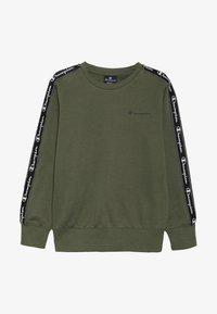 Champion - AMERICAN CLASSICS PIPING CREWNECK  - Sweatshirts - khaki - 2