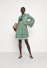 CECILIE copenhagen - SOUZARICA - Day dress - pepper/cream - 1