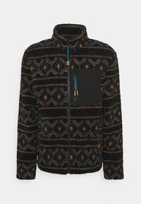 REVOLUTION - PRINTED FLEECE - Fleece jacket - black - 0