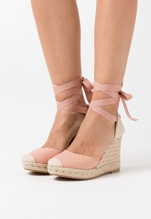 TRINIDAD  - High heeled sandals - light pink