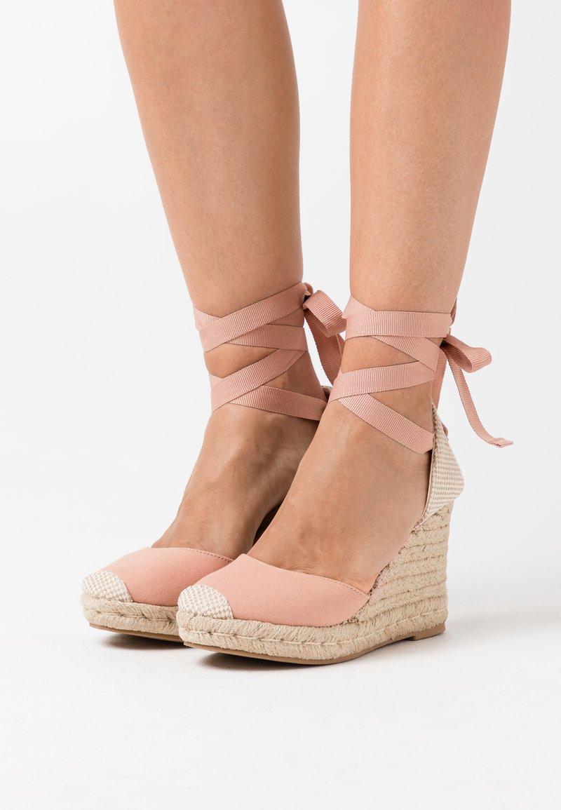 New Look - TRINIDAD  - Sandały na obcasie - light pink