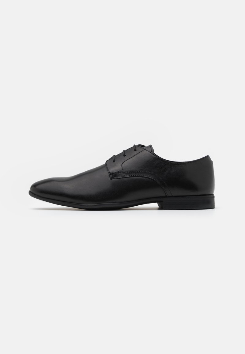 Pier One - LEATHER - Stringate eleganti - black