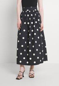 EDITED - JARINE SKIRT - Maxi skirt - bold dot - 0