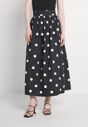 JARINE SKIRT - Maxi skirt - bold dot