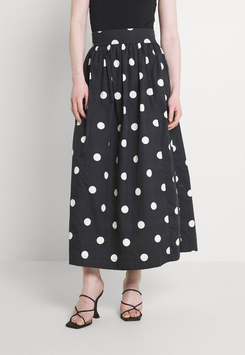 EDITED - JARINE SKIRT - Maxi skirt - bold dot