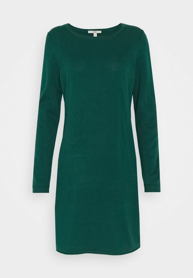 DRESS - Jumper dress - dark teal green