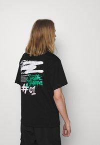 Sixth June - GRAFFITI HOODIE TEE - Print T-shirt - black - 2