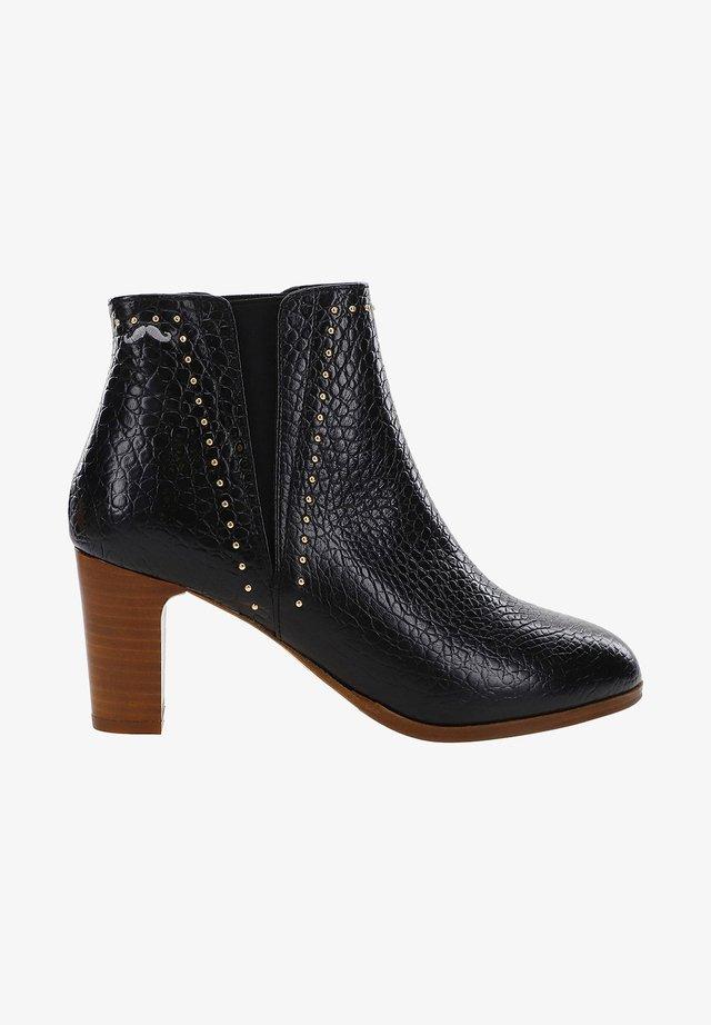 JEANNE - ANKLE BOOTS - Korte laarzen - black
