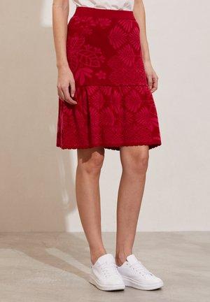HEDDA - A-line skirt - bright rose