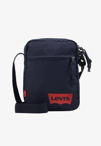 Levi's® - MINI CROSSBODY SOLID BATWING - Across body bag - navy blue - 1