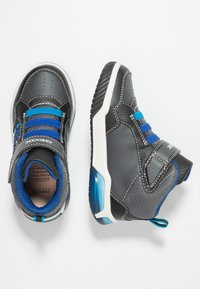 Geox - INEK BOY - Sneaker high - black/royal - 1