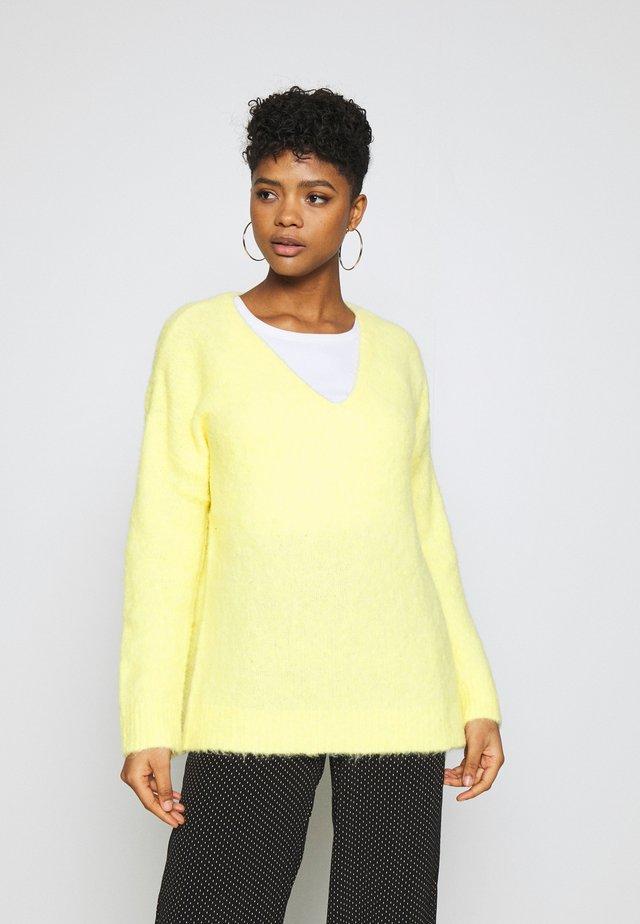 FAWINI JUMPER - Sweter - gelb