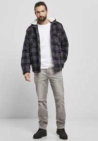 Brandit - LUMBER - Light jacket - black/grey - 1