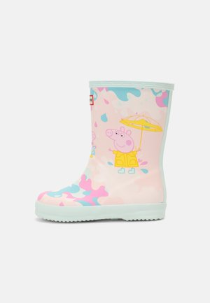 PEPPA PIG KIDS FIRST CLASSIC MUDDY PUDDLES UNISEX - Wellies - rose metal