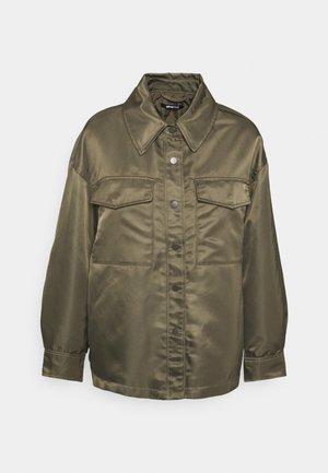 JOLINE SHACKET - Short coat - tarmac