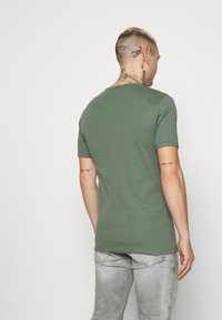 G-Star - BASE 2 PACK - Basic T-shirt - teal grey - 2