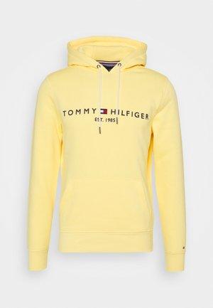 LOGO HOODY - Felpa con cappuccio - delicate yellow