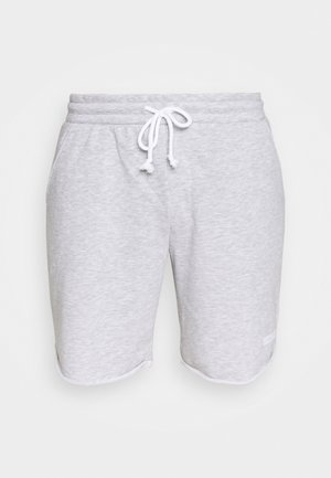 JJIZFRENCH TERRY SHORTS - Short de sport - light grey melange