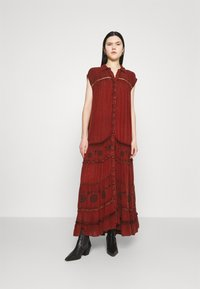 Free People - PRETTY COZY - Maxikjoler - brown - 0