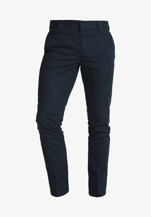 872 SLIM FIT WORK PANT  - Chinos - dark navy