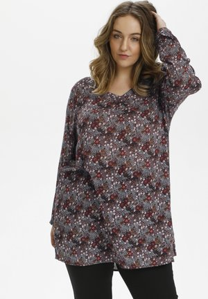 Tunic - port royal flower print