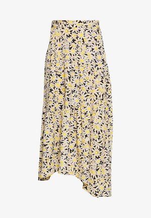 DAISY TIERED - A-line skirt - yellow