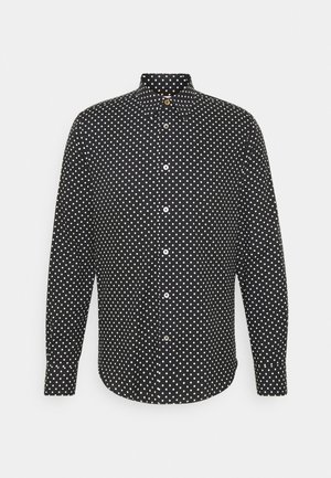 GENTS SLIM - Shirt - black