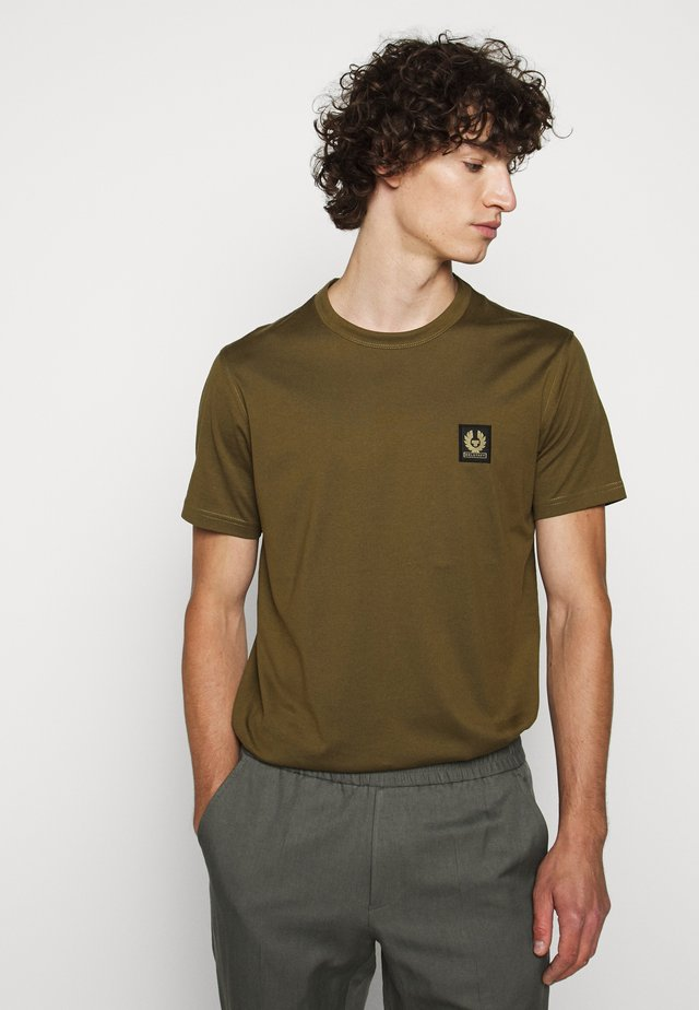 SHORT SLEEVED - Basic T-shirt - salvia
