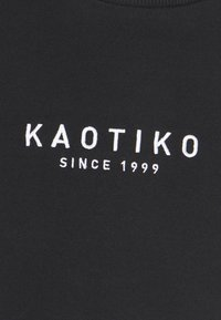 Kaotiko - UNISEX CREW WALKER - Sweatshirt - black - 6