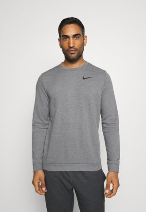 DRY CREW - Sweatshirts - charcoal heathr/black