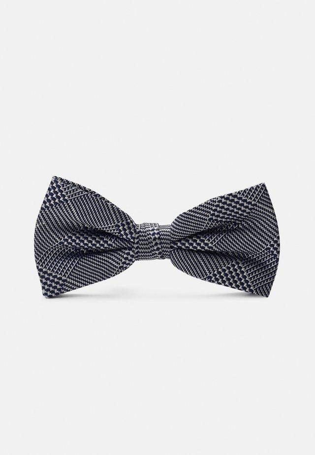 CHECK BOWTIE - Bow tie - blue