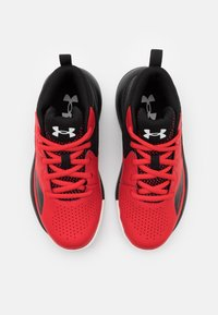 Under Armour - LOCKDOWN 5 UNISEX - Basketball shoes - versa red - 3