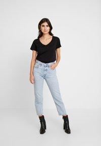 Anna Field - Basic T-shirt - black - 1