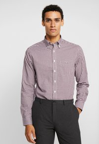 GANT - THE BROADCLOTH GINGHAM - Shirt - port red - 0