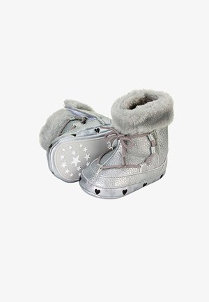 BABY WINTER-SCHUH - First shoes - silber