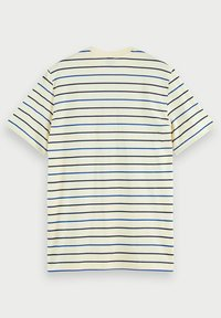 Scotch & Soda - T-shirt med print - light yellow - 4