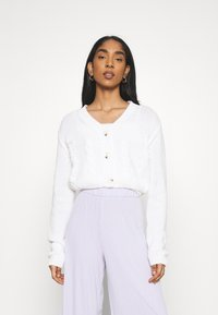 Cotton On - TWO BECOME ONE CARDI CAMI SET - Cardigan - white - 0