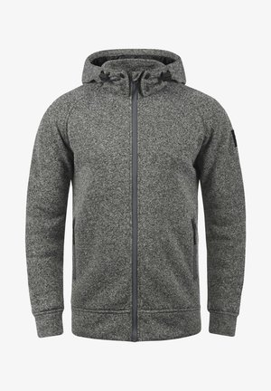 CHILLINGWORTH - Zip-up hoodie - mottled dark grey