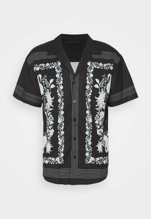 BORDER REVERE SHIRT - Shirt - black
