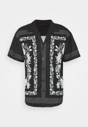 BORDER REVERE SHIRT - Skjorte - black