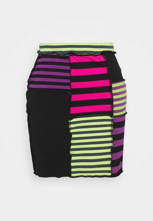 DAMAGE SKIRT - Minihame - multi-coloured