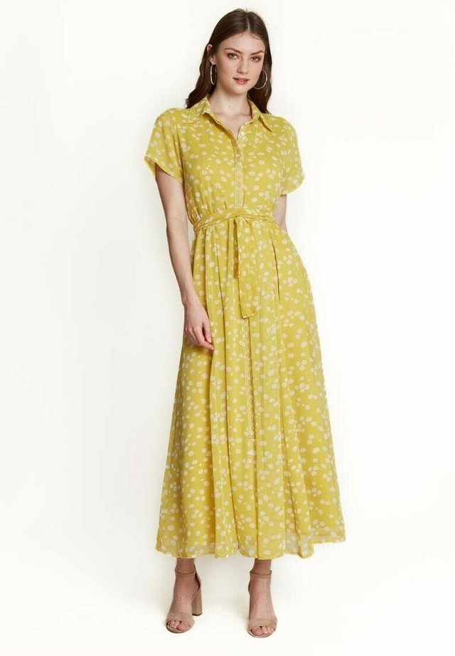 Robe longue - amarillo