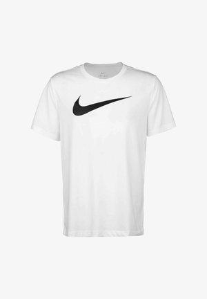 Print T-shirt - white / black