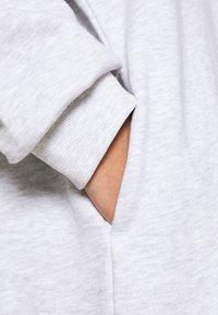 Weekday - MARCIE HOOD DRESS - Day dress - grey melange - 5